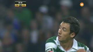 Sporting CP, Jogada, Iván Piris aos 70'