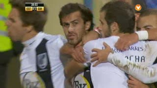 GOLO! Vitória SC, Tiago Rodrigues aos 38', Estoril Praia 0-1 Vitória SC