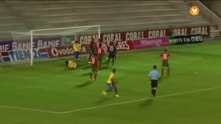 GOLO! Estoril Praia, Javier Balboa aos 12', Marítimo M. 0-1 Estoril Praia