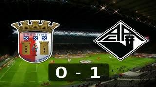 I Liga (8ªJ): Resumo SC Braga 0-1 A. Académica