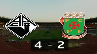 I Liga (15ªJ): Resumo A. Académica 4-2 FC P.Ferreira