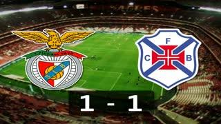 6ª J: Resumo Benfica 1-1 Belenenses