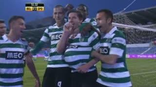 GOLO! Sporting CP, Adrien Silva aos 51', Belenenses 0-1 Sporting CP