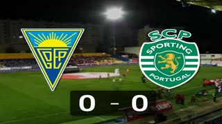 Liga (15.ª Jornada): Resumo Estoril 0-0 Sporting