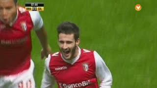 GOLO! SC Braga, Rafa aos 8', SC Braga 1-0 Gil Vicente FC