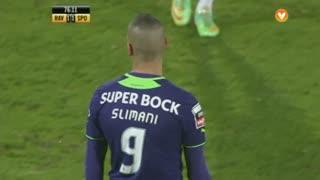 Sporting CP, Jogada, Slimani aos 75'