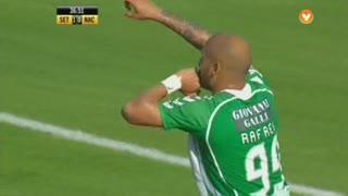 GOLO! Vitória FC, Rafael Martins aos 38', Vitória FC 2-0 CD Nacional