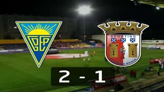 Liga (19ª J): Resumo Estoril 2-1 Sp. Braga