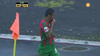 GOLO! Marítimo M., Derley aos 12', Marítimo M. 1-0 FC Porto