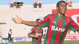 GOLO! Marítimo M., Derley aos 44', Marítimo M. 1-0 SL Benfica