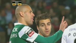 Sporting CP, Jogada, Slimani aos 5'