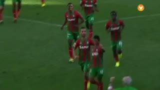 GOLO! Marítimo M., Héldon aos 13', Marítimo M. 1-0 Gil Vicente FC