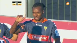 GOLO! Estoril Praia, Javier Balboa aos 11', FC P.Ferreira 0-1 Estoril Praia