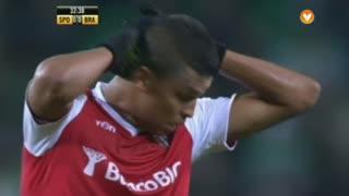 SC Braga, Jogada, Aderllan Santos aos 32'