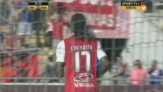 GOLO! SC Braga, Éder aos 32', SC Braga 1-0 Marítimo M.
