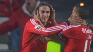 GOLO! SL Benfica, Markovic aos 40', SL Benfica 1-0 Vitória SC