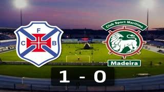 5ª J: Resumo Belenenses 1-0 Marítimo