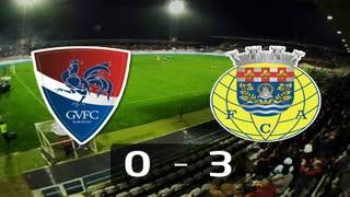 I Liga (14ªJ): Resumo Gil Vicente FC 0-3 FC Arouca