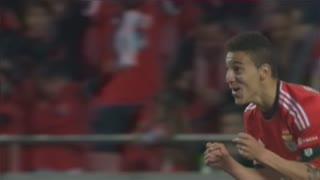 GOLO! SL Benfica, Rodrigo aos 16', SL Benfica 1-0 Rio Ave FC