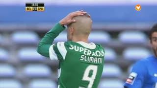 Sporting CP, Jogada, Slimani aos 19'