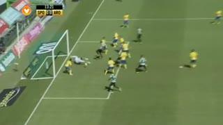 Sporting CP, Jogada, Wilson Eduardo aos 13'