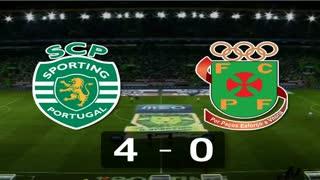 I Liga (11ªJ): Resumo Sporting CP 4-0 FC P.Ferreira