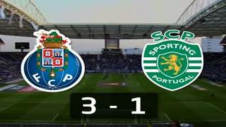 I Liga (8ªJ): Resumo FC Porto 3-1 Sporting CP