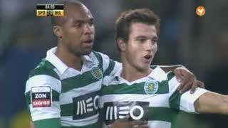 GOLO! Sporting CP, Wilson Eduardo aos 84', Sporting CP 3-0 Belenenses