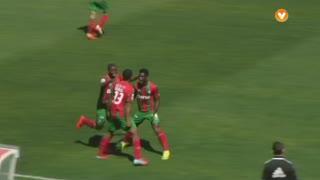 GOLO! Marítimo M., Derley aos 14', Marítimo M. 1-0 FC Arouca