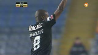 GOLO! A. Académica, Makelele aos 42', A. Académica 1-0 Marítimo M.