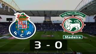 I Liga (2ªJ): Resumo FC Porto 3-0 Marítimo M.