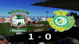 Liga (19.ª J): Resumo Marítimo 1-0 V. Setúbal