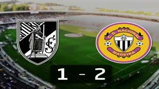 Liga (17.ª J): Resumo V. Guimarães 1-2 Nacional