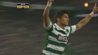 GOLO! Sporting CP, Montero aos 10', Sporting CP 1-0 SL Benfica