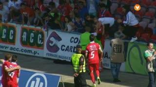 GOLO! Gil Vicente FC, Diogo Viana aos 31', Gil Vicente FC 1-0 ( CD Nacional
