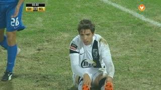 Vitória SC, Jogada, Tiago Rodrigues aos 45'