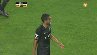 GOLO! SL Benfica, Marcelo Goiano (p.b.) aos 37', A. Académica 0-2 ( SL Benfica