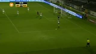 SC Olhanense, Jogada, Paulo Regula aos 28'