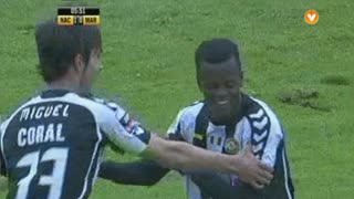 GOLO! CD Nacional, Reginaldo aos 6', CD Nacional 1-0 Marítimo M.
