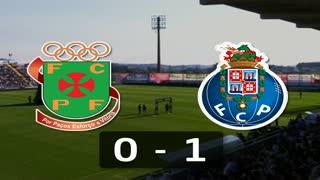 I Liga (3ªJ): Resumo FC P.Ferreira 0-1 FC Porto