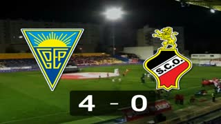 Liga (21.ª J): Resumo Estoril 4-0 Olhanense