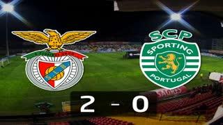 I Liga (18ªJ): Resumo SL Benfica 2-0 Sporting CP