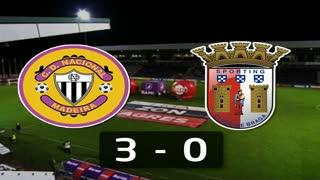 I Liga (7ªJ): Resumo CD Nacional 3-0 SC Braga