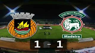 Liga (15.ª Jornada): Resumo Rio Ave 1-1 Marítimo