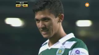 Sporting CP, Jogada, Montero aos 45'