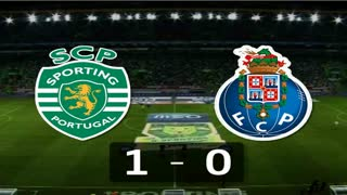 Liga (23.ª J): Resumo Sporting 1-0 FC Porto