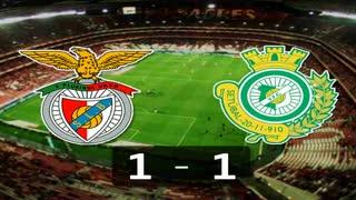 Liga (29ª J): Resumo Benfica 1-1 V. Setúbal