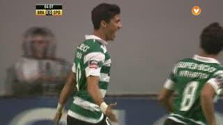 GOLO! Sporting CP, Montero aos 5', SC Braga 0-1 Sporting CP