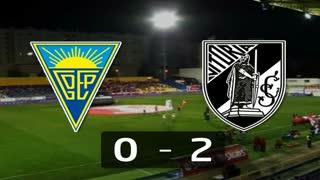 I Liga (11ªJ): Resumo Estoril Praia 0-2 Vitória SC