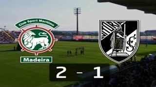 I Liga (22ªJ): Resumo Marítimo M. 2-1 Vitória SC